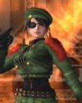 Leona, vestida como Heidern