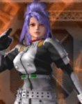 Leona, vestida como Rei Ayanami (Evangelion)