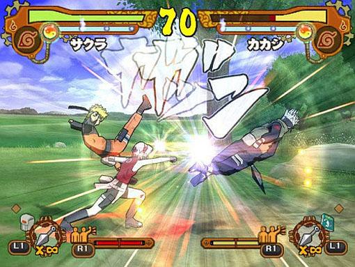 Naruto Shippuuden: Ultimate Ninja 5 (Playstation 2)   NOVO